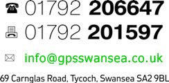 GPS Swansea Contact